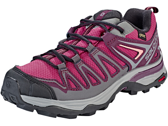 Salomon X Ultra 3 Prime GTX Shoes Women malaga/potent purple/desert flower